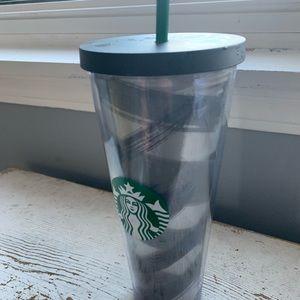 Starbucks 2014 grey black green 24 fl oz tumbler